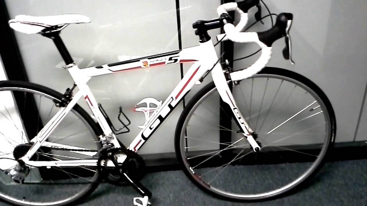 2012 GT Series 5 Road Bike OverviewReview  YouTube