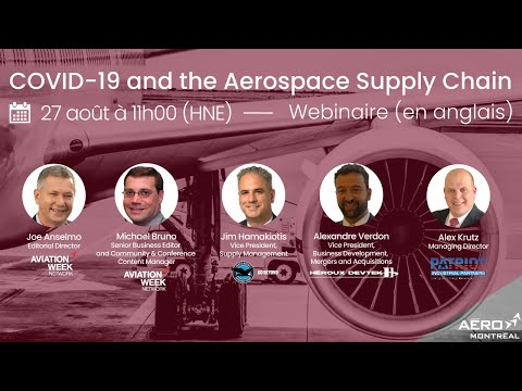 Webinaire (en anglais) : COVID-19 and the Aerospace Supply Chain
