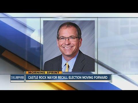 Castle Rock Mayor facing recall election
