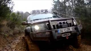 jeep grand cherokee wj off road extreme tires ocak 2012 wmv