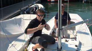 Etchells How to Guide Part 4, Downwind & Bottom mark prep