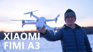 Better Than DJI Spark for $300? Xiaomi FIMI A3 Test