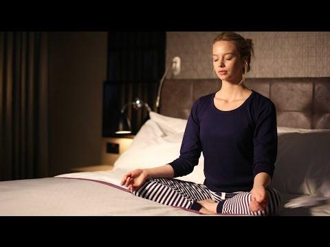 How to perform pre sleep yoga
