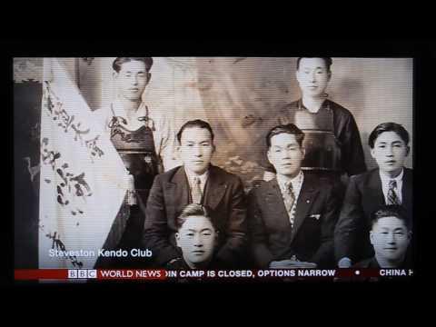 Steveston Kendo Club _ est 1914 _ BBC World news, 20170721 Fri
