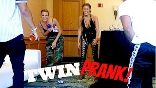 SEEING DOUBLE TWIN PRANK!