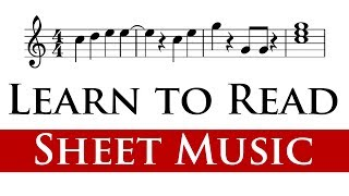 Reading Sheet Music for Beginners (1/4)