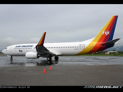 Air Pacific B737-800 Honiara - Nadi (X-Plane 9)