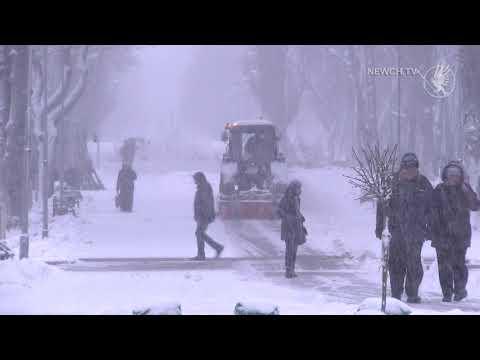 Телеканал Новий Чернігів: Сніг іде – комунальники працюють| Телеканал Новий Чернігів