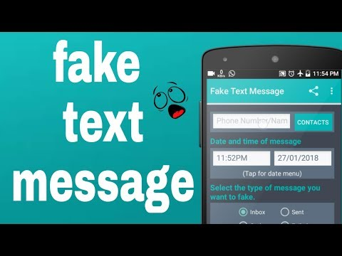 How To Create Fake Text Message 2018