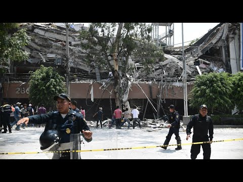 فرانس 24:Mexico Earthquake: Rescue operation ongoing for survivors as residents come out in solidarity