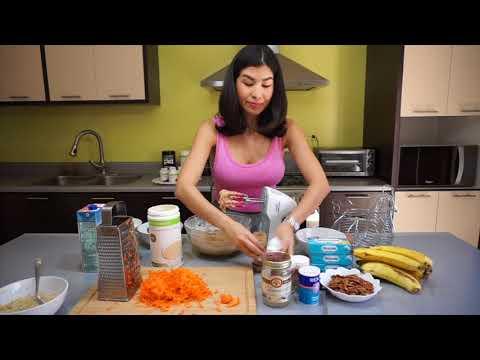 Pastel de Zanahoria sin harina, sin azucar añadida