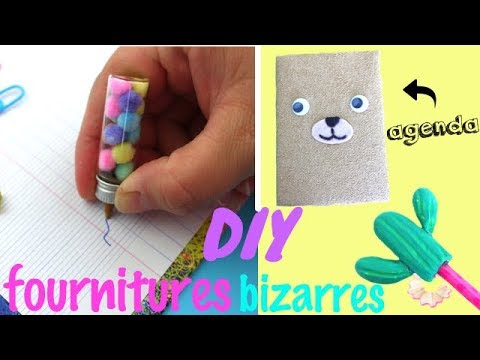 diy fournitures scolaires bizarres reva ytb youtube. Black Bedroom Furniture Sets. Home Design Ideas