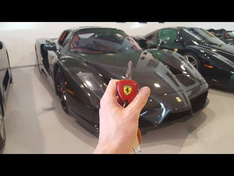 Carbon Ferrari Enzo: In-Depth Exterior and Interior Tour!