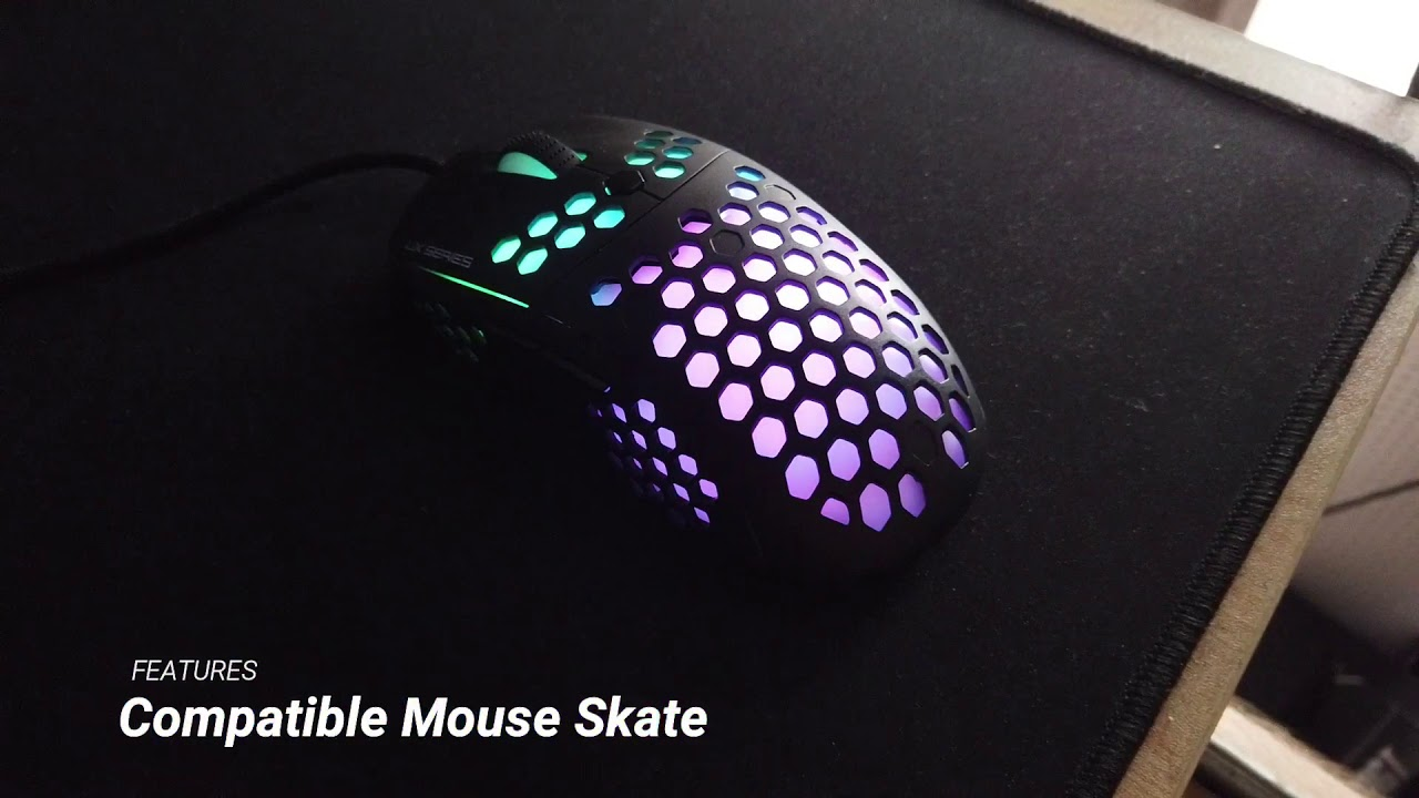 Fantech Hive UX2 Review   Great 74g Honeycomb Mouse!