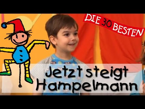 Jetzt steigt Hampelmann - Singen, Tanzen und Bewegen || Kinderlieder
