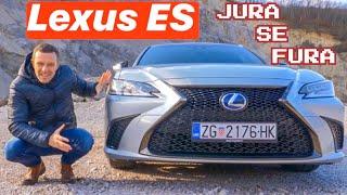 Japanski luksuz - Lexus ES 300h - Jura se fura