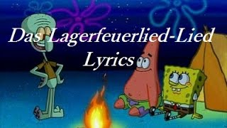 Spongebob - Lagerfeuerlied Lied Lyrics