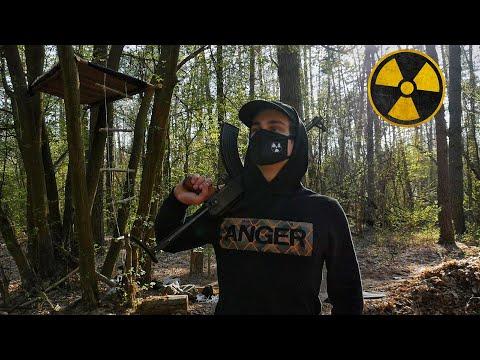 Ремонт домика на дереве и землянки в Чернобыле. Построил сталкерскую базу. Выживание в лесу