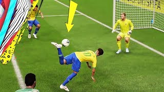FIFA 20 TOP 10 BEST GOALS! Ft. SCORPION KICK,ZLATAN LONGSHOT!,NEYMAR BACKHEEL!