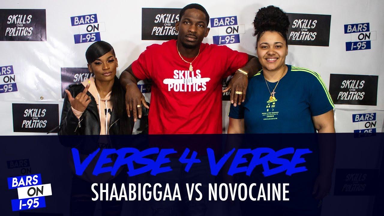 Shaabiggaa & Novocaine Bars On I-95 V4V Freestyle
