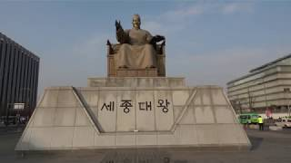 (Travel Vlog) Gwanghwamun Square 광화문광장 Seoul South Korea Travel