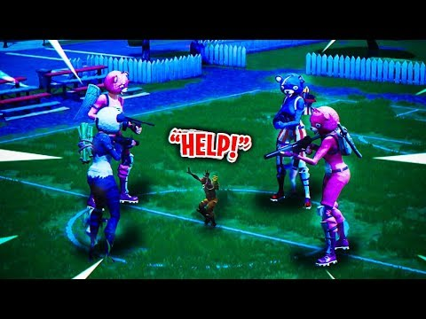 WHAT HAPPENS WHEN 4 FORTNITE BEARS TEAM UP?! YOU WONT BELIEVE THIS GODLY SQUAD...