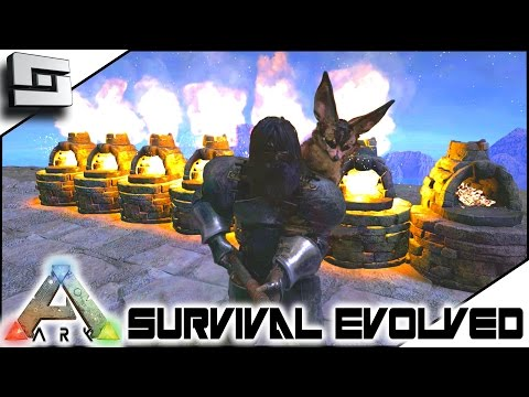 ARK: Survival Evolved - SUPER METAL FOUNDRY! E6 ( Skies Of Nazca Gameplay )