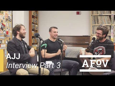 Andrew Jackson Jihad (Sean Bonnette) Interview with A Fistful of Vinyl on KXLU 88.9 FM [Part 3]