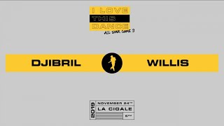 DJIBRIL vs WILLIS | I LOVE THIS DANCE ALL STAR KIDS 2019