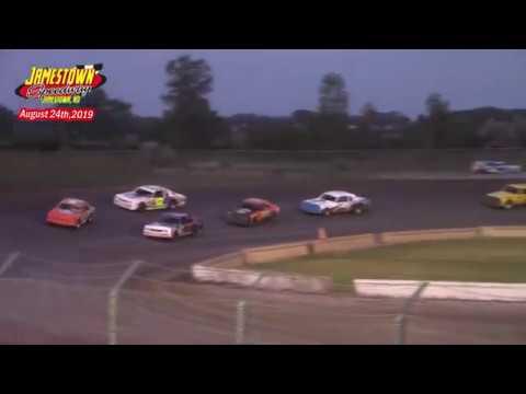 Jamestown Speedway Bomber A-Main (8/24/19)