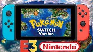 Massive Rumor: Gen 8 Pokemon Switch Starters & Legendaries Revealed & Nintendo Big E3 Plans