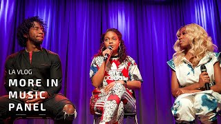 HOSTED A PANEL WITH EPIC RECORDS, REVOLT TV + MORE! #GRAMMYMUSEUM #LAVLOG