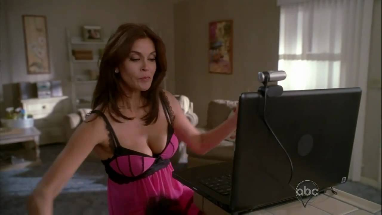 You teri hatcher sex scenes apologise, but
