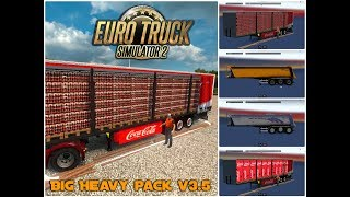"[""Big Heavy Pack v3.5"", ""trailer pack"", ""trailer pack mod"", ""all trailers"", ""ets 2"", ""ets 2 trailer pack"", ""heavy trailer pack"", ""oversize trailer pack"", ""large trailer pack"", ""Euro Truck Simulator 2 Big Heavy Pack v3.5""]"