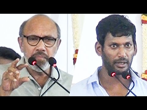 """""""I thought Vishal can never win an election"""" Actor Sathyaraj 