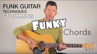 Funk Guitar Techniques - Strumming