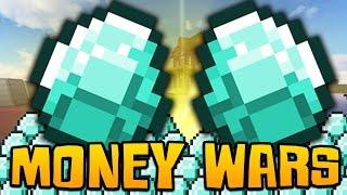 """Minecraft MONEY WARS #6 """"OVERPOWERED MONEY TEAM!"""" w/ Woofless & Preston!"""