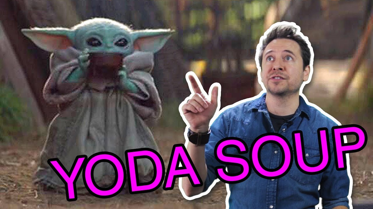 Baby Yoda Sipping Soup | Meme Time - YouTube