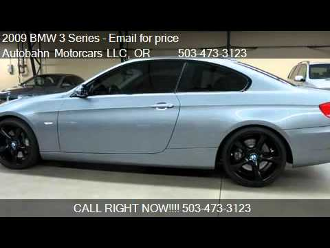 BMW Series I Dinan Equipped Sport Coupe For Sale I YouTube - 2009 bmw 335i price