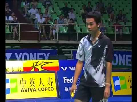 Badminton China Masters MS QF Taufik Hidayat vs Lee Chong Wei
