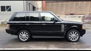 Range Rover Supercharged 4.2 V8 400HP Autobiography Acceleration and Exhaust Sound