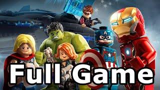 Lego Marvel's Avengers Full Game Walkthrough - No Commentary