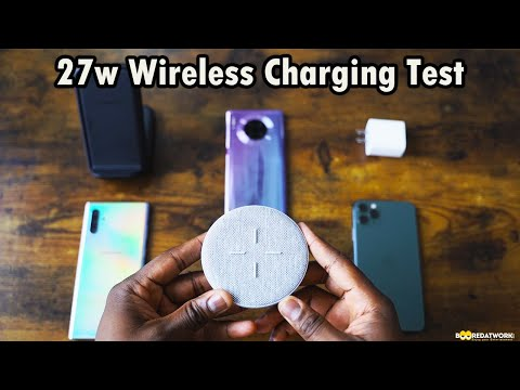 Huawei Mate 30 Pro Vs IPhone 11 Pro Max Vs Galaxy Note 10 Plus // 27w Wireless Charging Test 😯!!!