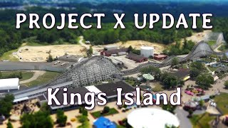 Kings Island PROJECT X UPDATE Aug 5, 2019