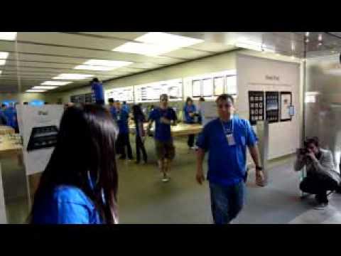 iPad in Apple Store Valley Fair