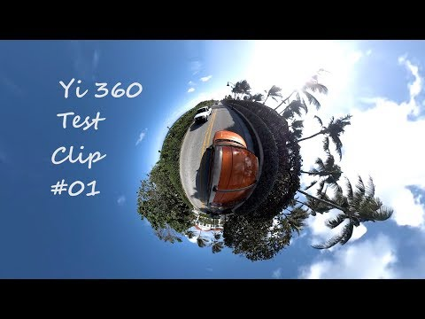Yi 360 VR Camera (TestClip001) / A1A / West Palm Beach