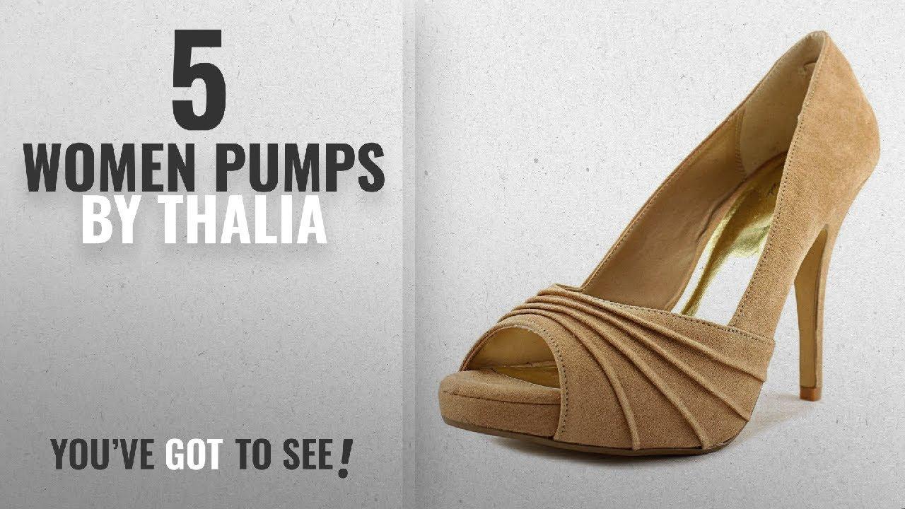 cdf41ebf86e26 Top 5 Thalia Women Pumps [2018]: Thalia Sodi Womens Marissa Open Toe  Platform Pumps, Camel, Size 9.5