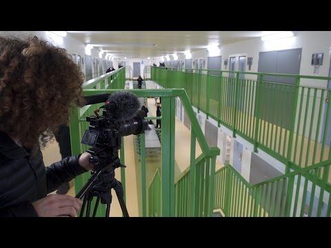 Filming inside the UK's biggest Prison