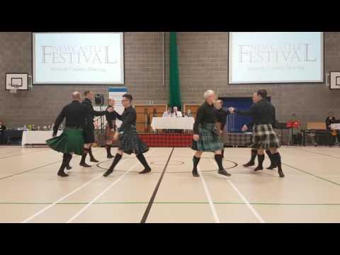 Newcastle Festival 2017 -  Edinburgh Scottish Dancers - The Earl of Mansfield