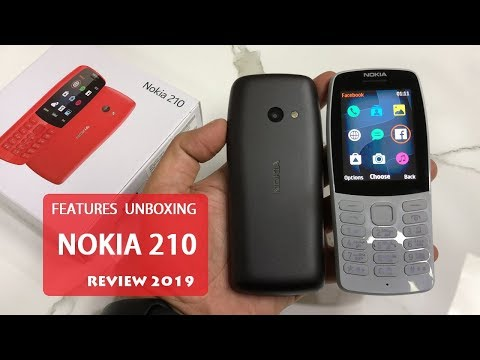 NOKIA 210 FEATURES REVIEW AND UNBOXING